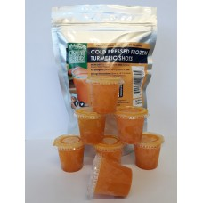 Frozen Turmeric Shots - 4 Week Supply